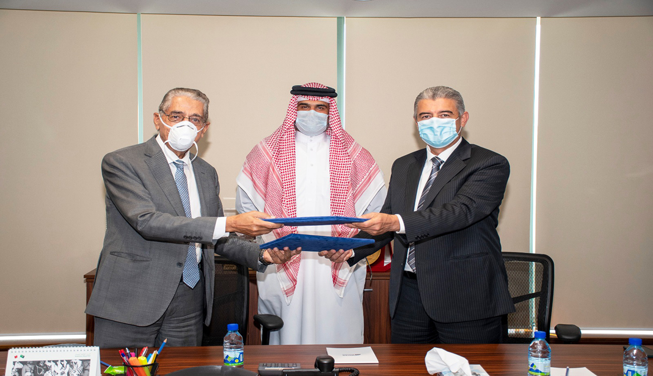 Bahrain Pharmacy Warehouse Contract Signing